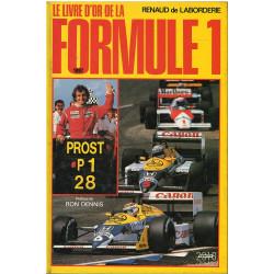 LE LIVRE D'OR DE LA FORMULE 1 1987 Librairie Automobile SPE 9782263012013