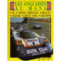 LES ANGLAISES AU MANS - DOMINIQUE PASCAL Librairie Automobile SPE 9782360590148