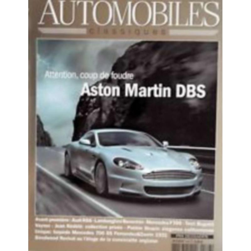 ASTON MARTIN DBS - AUTOMOBILES CLASSIQUES N°166 Librairie Automobile SPE AC166