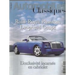 ROLLS-ROYCE PHANTOM DROPHEAD COUPÉ - AUTOMOBILES CLASSIQUES N°164 Librairie Automobile SPE AC164