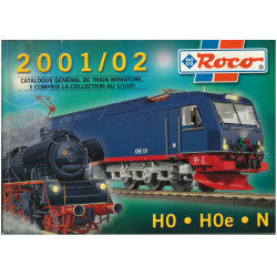 CATALOGUE ROCO HO. HOe. N 2001/02 Librairie Automobile SPE ROCO  2001/02