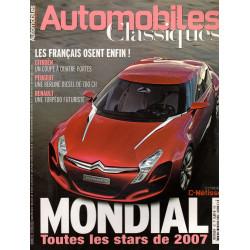 MONDIAL 2007 - AUTOMOBILES CLASSIQUES N°157 Librairie Automobile SPE AC157