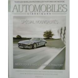 SALON FRANCFORT 2009 - AUTOMOBILES CLASSIQUES N°188 Librairie Automobile SPE AC188