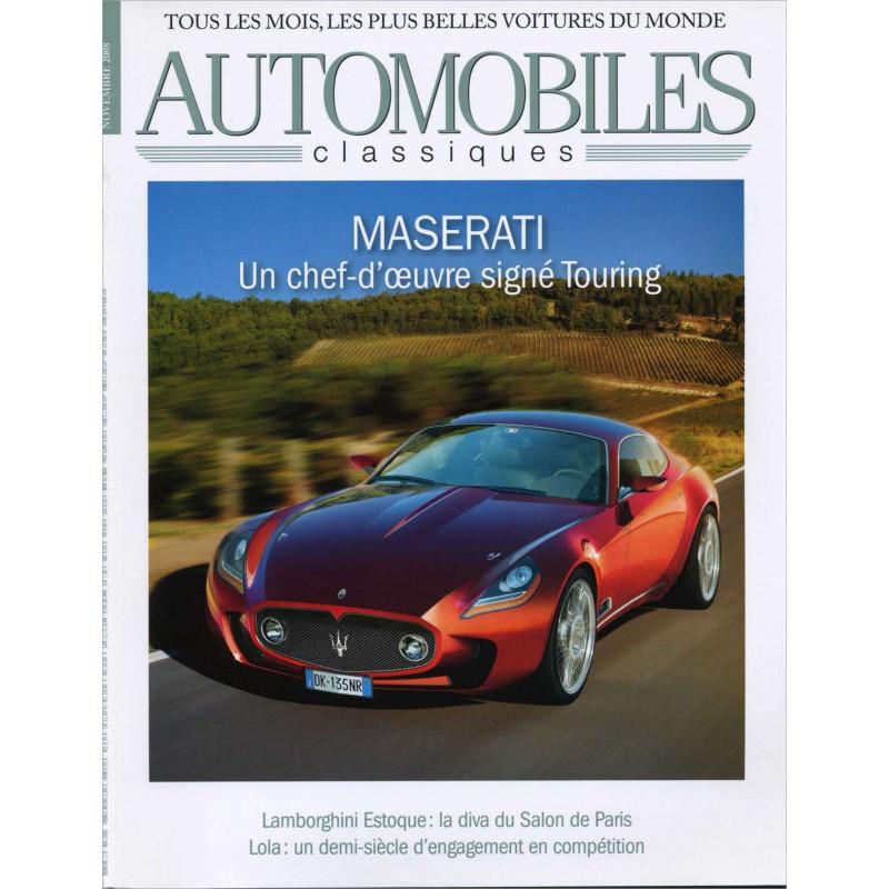 DOSSIER SALON DE PARIS 2008 - AUTOMOBILES CLASSIQUES N°179 Librairie Automobile SPE AC179