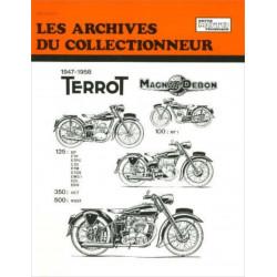 REVUE TECHNIQUE MOTO TERROT ARC103 Librairie Automobile SPE 9782726899410