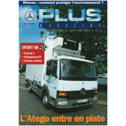 PLUS MAGAZINE - LES INFORMATIONS DE MERCEDES-BENZ FRANCE N°58 - Mai 1998 Librairie Automobile SPE PLUS MAGAZINE  N°58