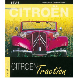 CITROËN TRACTION / DOMINIQUE BELLIERE / EDITIONS ETAI Librairie Automobile SPE 9782726885833