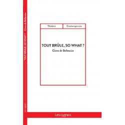 TOUT BRÛLE, SO WHAT ? / CÔME DE BELLESCIZE / EDITIONS LES CYGNES Librairie Automobile SPE 9782369442981