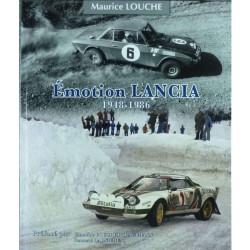EMOTION LANCIA 1948-1986 / MAURICE LOUCHE Librairie Automobile SPE 9782954445267
