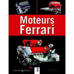 MOTEURS FERRARI / FRANCESCO REGGIANI / EDITIONS ETAI Librairie Automobile SPE 9791028303464