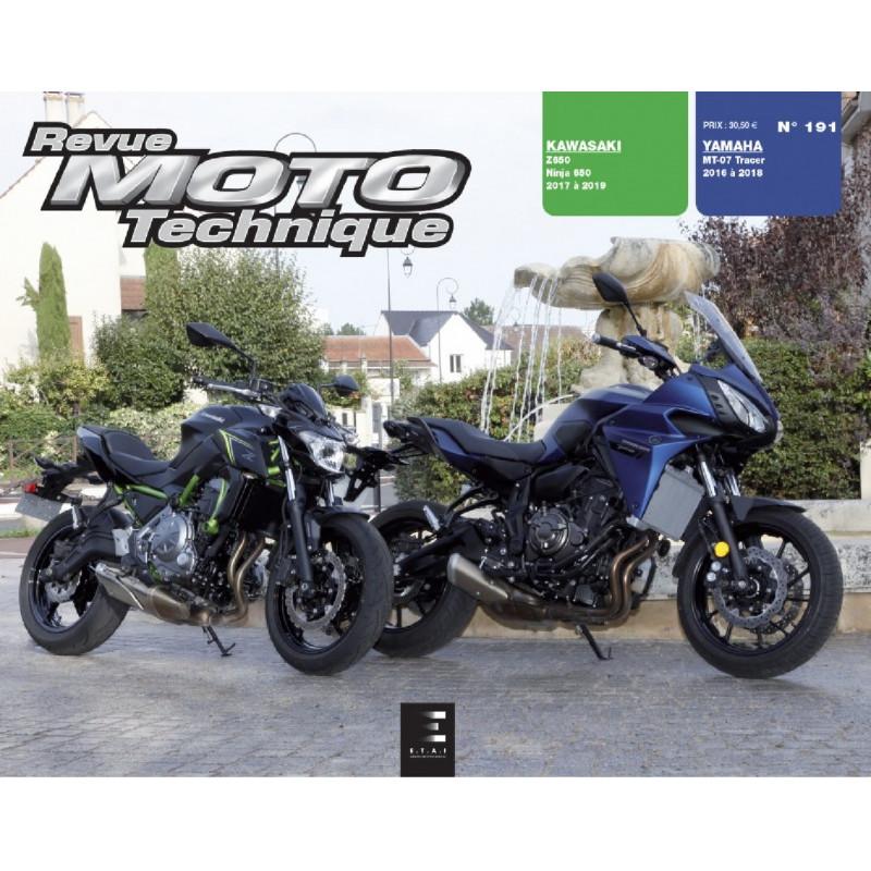 REVUE MOTO TECHNIQUE YAMAHA MT-07 TRACER - RMT 191 Librairie Automobile SPE 9791028306700