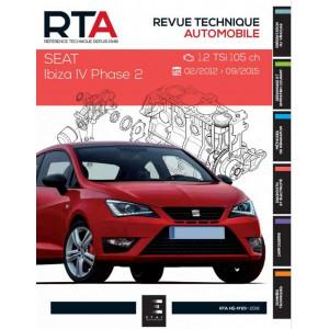 REVUE TECHNIQUE SEAT IBIZA IV PHASE 2 de 2012 à 2015 - RTA HS23 Librairie Automobile SPE 9791028306052