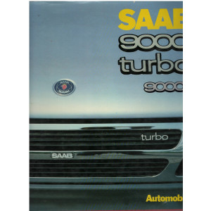 SAAB 9000 TURBO 9000 I - Automobilia