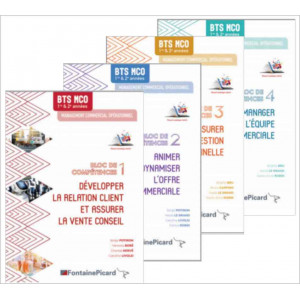 PACK MCO Bloc 1 à 4 BTS MCO / FONTAINE PICARD / PAMCO-9782744631313