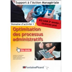 OPTIMISATION DES PROCESSUS ADMINISTRATIFS 2e année BTS SAM / FONTAINE PICARD / SAM12-9782744630767