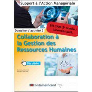 COLLABORATION À LA GESTION DES RESSOURCES HUMAINES 2re année BTS SAM / FONTAINE PICARD / SAM32-9782744630804