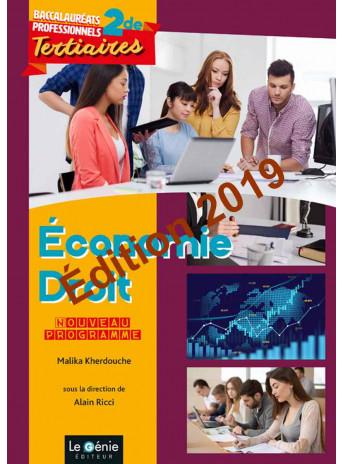ÉCONOMIE-DROIT Seconde professionnelle BAC PRO TERTIAIRES  / LE GENIE / AP301-9782375633212