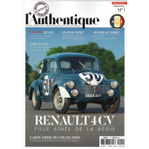 L'AUTHENTIQUE LE MAGAZINE DE LA FFVE N°1 2018