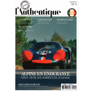 L'AUTHENTIQUE LE MAGAZINE DE LA FFVE N°2 - 2018