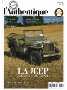 L'AUTHENTIQUE LE MAGAZINE DE LA FFVE N°3 - 2018
