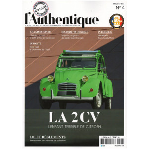 L'AUTHENTIQUE LE MAGAZINE DE LA FFVE N°4 - 2018