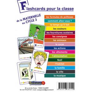 Flashcards pour la classe - Ressources en Anglais - Génération 5