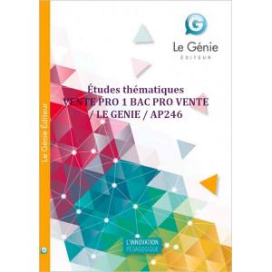 Études thématiques VENTE PRO 1 BAC PRO VENTE / LE GENIE / AP246-9782844254689