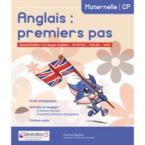 ANGLAIS PREMIERS PAS MATERNELLE-CP - Génération 5