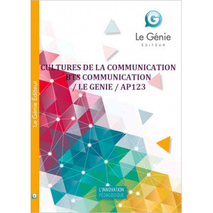 CULTURES DE LA COMMUNICATION BTS COMMUNICATION / LE GENIE / AP123-9782843479311