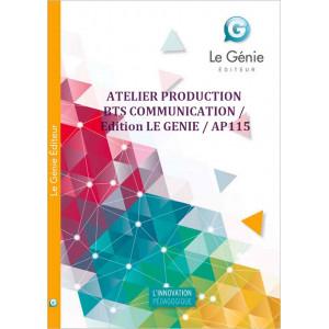 ATELIER PRODUCTION BTS COMMUNICATION / LE GENIE / AP115