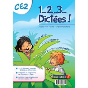 1, 2, 3... dictées ! CE2 - Génération 5