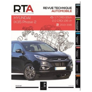 REVUE TECHNIQUE HYUNDAI IX35 BREAK 5P Phase 2 (2013-2015) - RTA 827