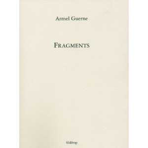 Fragments de Armel Guerne