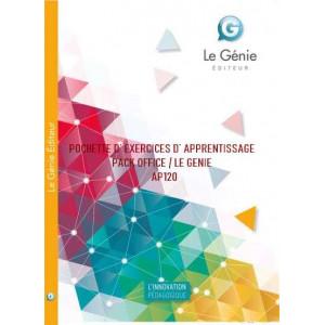 POCHETTE D' EXERCICES D' APPRENTISSAGE PACK OFFICE / LE GENIE / AP120-9782843479106