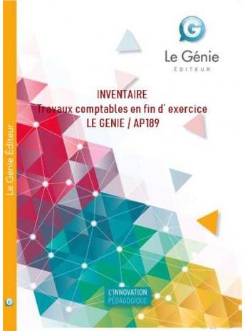 Inventaire Travaux Comptables En Fin D Exercice Le Genie Ap189