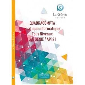 QUADRACOMPTA Pratique informatique Tous Niveaux / LE GENIE / AP121-9782375630983