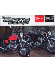 REVUE MOTO TECHNIQUE HONDA CD350 FOUR - CB400 F1 ET F2 - RMT 12