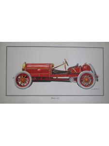 Lithographie GLADIATOR 1904