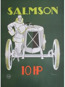 Affiche SALMSON 10 HP