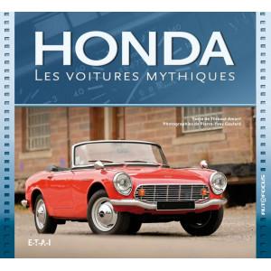 HONDA LES VOITURES MYTHIQUES / Thibaut Amant / Edition ETAI-9791028300128