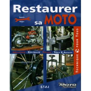 Restaurer sa moto / Patrick Negro / Edition ETAI-9782726894538