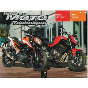 REVUE MOTO TECHNIQUE HONDA CB500 FA et XA 2016 à 2018 - RMT 193