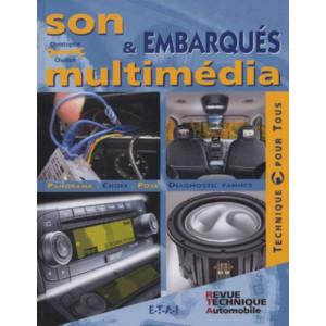 Son et multimédia embarqués /Christophe Chaillan / Edition ETAI-9782726894033