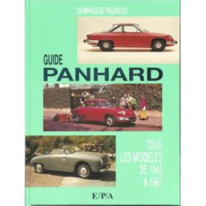 Guide Panhard Tous les modèles de 1945 à 1967 / Dominique Pagneux / Edition EPA-9782851204264