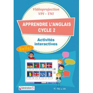 Apprendre l'anglais Cycle 2 (Ressources TBI-Vidéoprojection)
