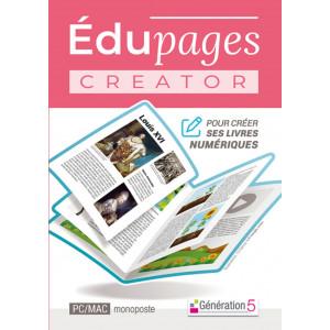 Edupages Creator - Pour réaliser un livre numérique - Génération 5