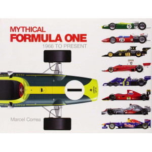 Mythical Formula One: 1966 to Present Hardcover / Marcel Correa / Edition Schiffer Publishing-9780764345814