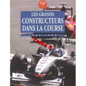 50 Ans de Formule 1 : Tome 5, Les grands constructeurs dans la course 1989-1999 / Johnny Rives / Editions ETAI-9782726884782