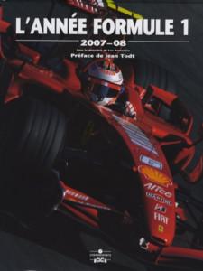 L'Année Formule 1 - Edition 2007-2008 / Luc Domenjoz / Editeur Chronosports-9782847071337