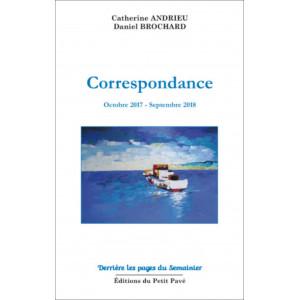 Correspondance de Catherine Andrieu et Daniel-Brochard / Edition du Petit Pavé-9782847126228